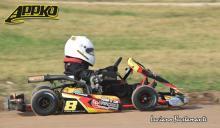 Mas de 30 karting probaron en Laprida