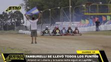 Video | Cajeros 125: Tamburelli le tomó el gusto a ganar