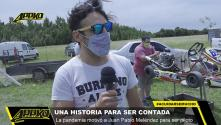 Video | La pandemia motivó a Meléndez para ser piloto
