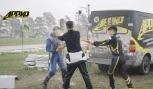 Podio Junior 150 | Sensaciones antes de la lluvia