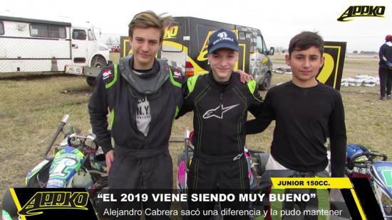 Junior en calidad HD en el autódromo de Olavarría