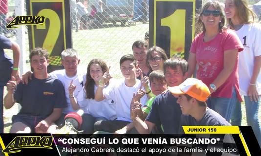 Video Junior: La corona quedó en las manos de Cabrera