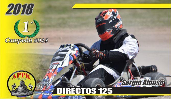 Sergio Alonso, nuevo Campeón en Directo 125