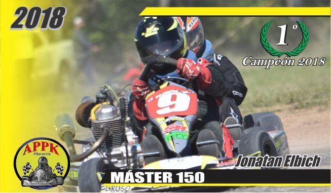 Jonatan Elbich se consagró en Master 150