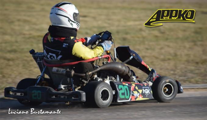 Marcos Magnante fue el más rápido en Internacional 125