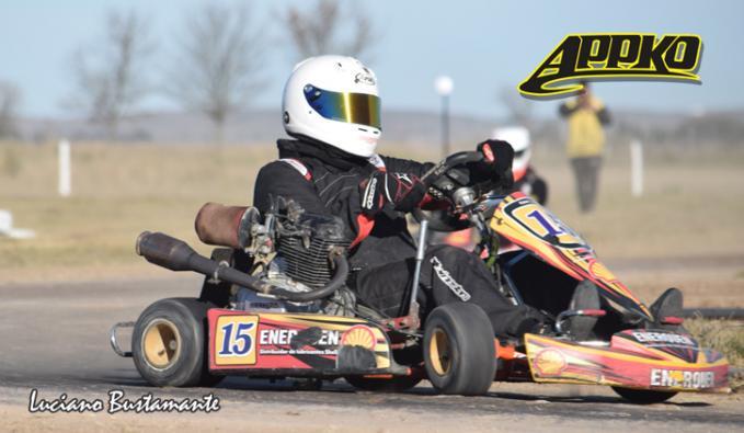 Tony Salvador fue el mas veloz en Cajeros 150