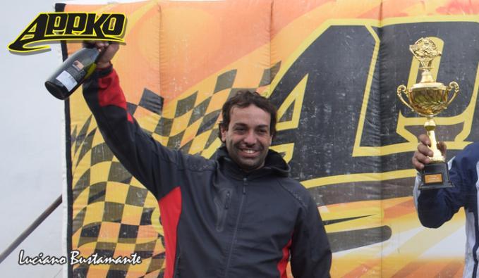 Marcelo Iglesias sigue la frente del campeonato de Cajeros 150