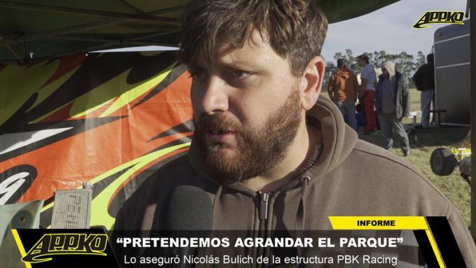 El piloto del Turismo Pista, Nicolás Bulich, es parte del equipo PBK. | Imagen de video