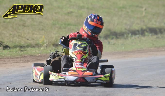 Julio Tamburelli alcanzó el podio