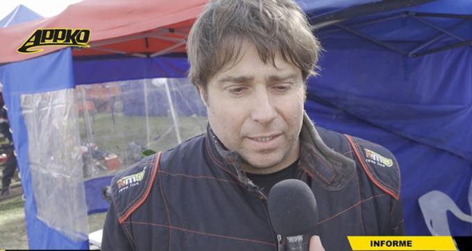 Mauricio Cordi es piloto de Cajeros 150cc.   Foto Imagen de video