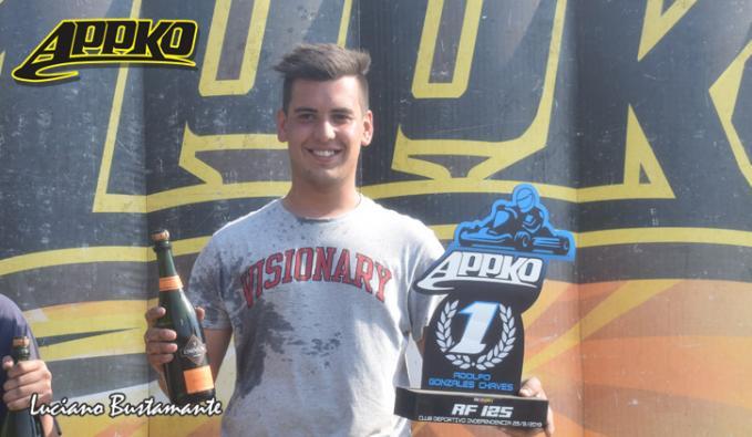Santiago Skeich ganó por primera vez en la categoría