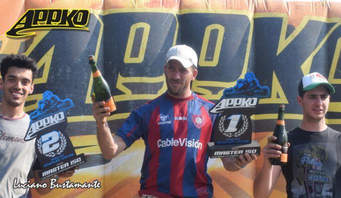 Mariano subió por primera vez en el año a lo más alto del podio