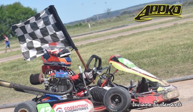 Luca Crudele ganó por priemra vez en la categoría