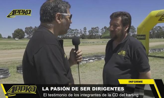 El titular de APPK Olavarría brindó detalles sobre la actualidad de la gestión. / Foto Imagen de video