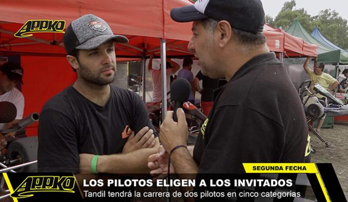 Juan Martín Pando irá con Matías Montalivet como invitado a la carrera de Tandil. | Foto Imagen de video