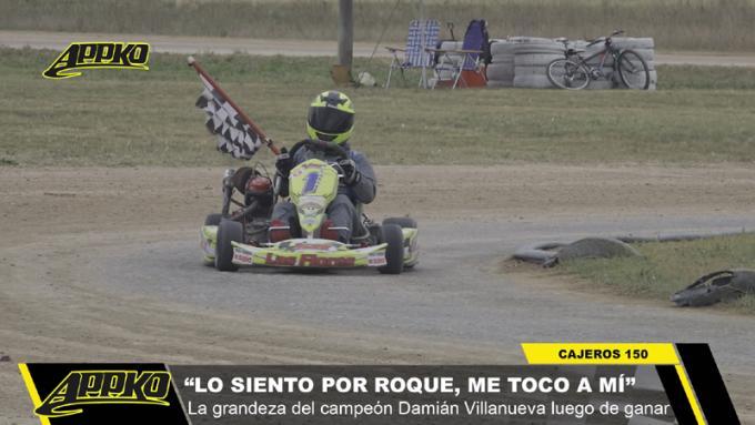 El campeón Damián Villanueva ya se mostró ganador en la temporada 2020. / Foto Imagen de video