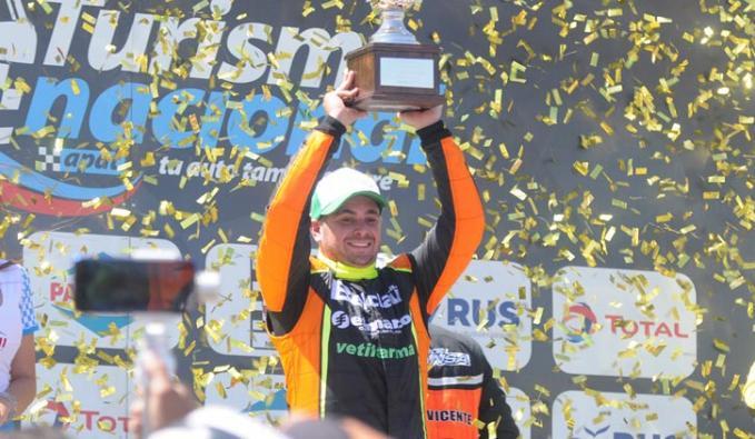Agustín Herrera confirmó que correrá esta competencia en Directos RF (foto APAT)