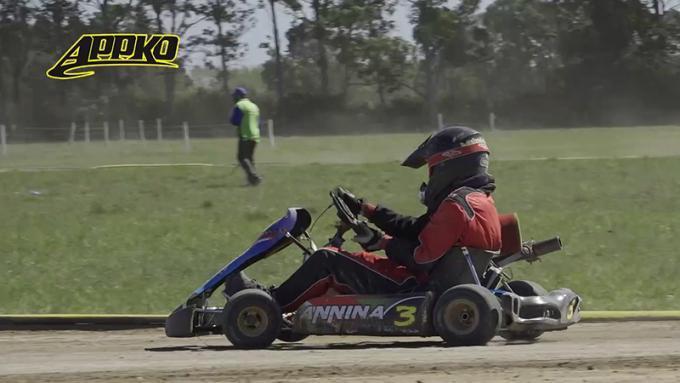 Borelli sigue sumando vueltas en el kartódromo del AMCO.