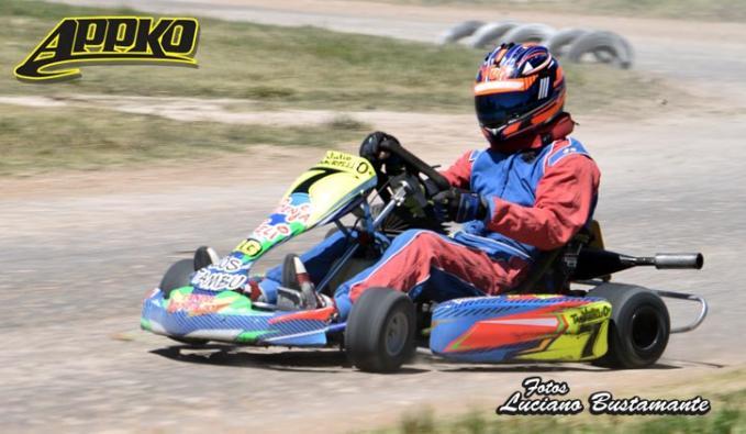 Julio Tamburelli se llevó la cuarta pole