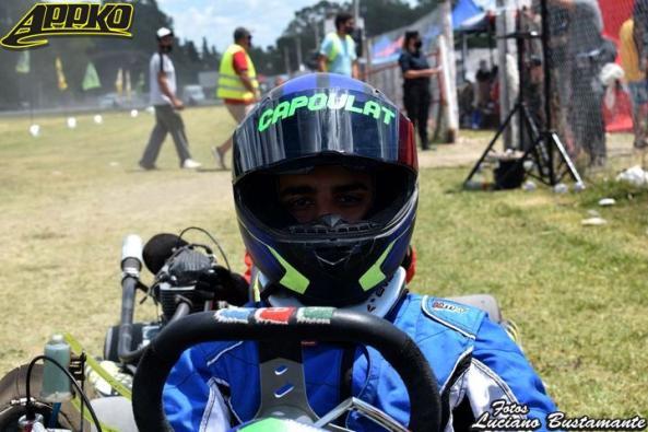 Mariano Capoulat cambiará de motorista para la próxima fecha