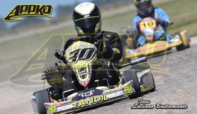 Federico Roumec, marcha tercero en el campeonato de Cajeros 125