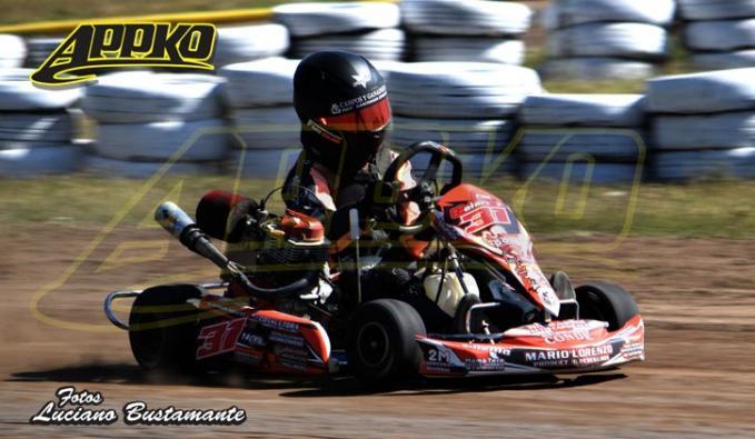 Francisco Solari  marcha segundo en el torneo
