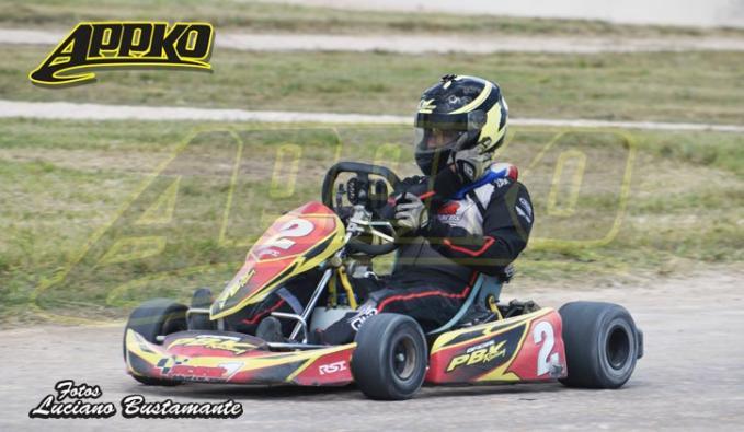 Jonatan Elbich está tercero en el campeonato