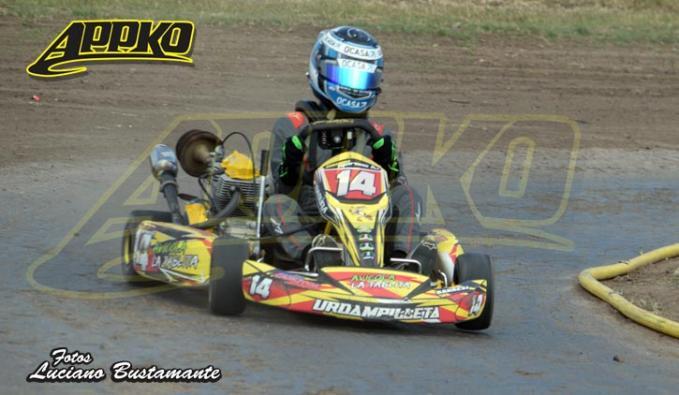 Simón Marcos está sexto en el campeonato