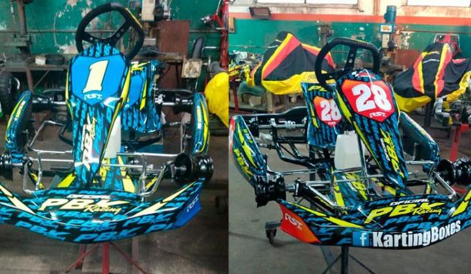 El diseño de los nuevos karting de Villanueva y Grifes