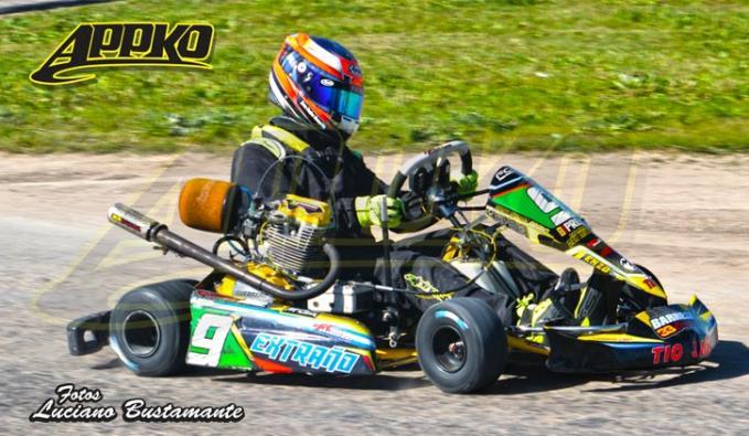 Juan Pedro Arano se quedó con la pole en la categoría Junior y Cadetes